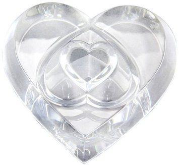 Peso para Papel 3 Love, Coração, Baccarat, 2106263