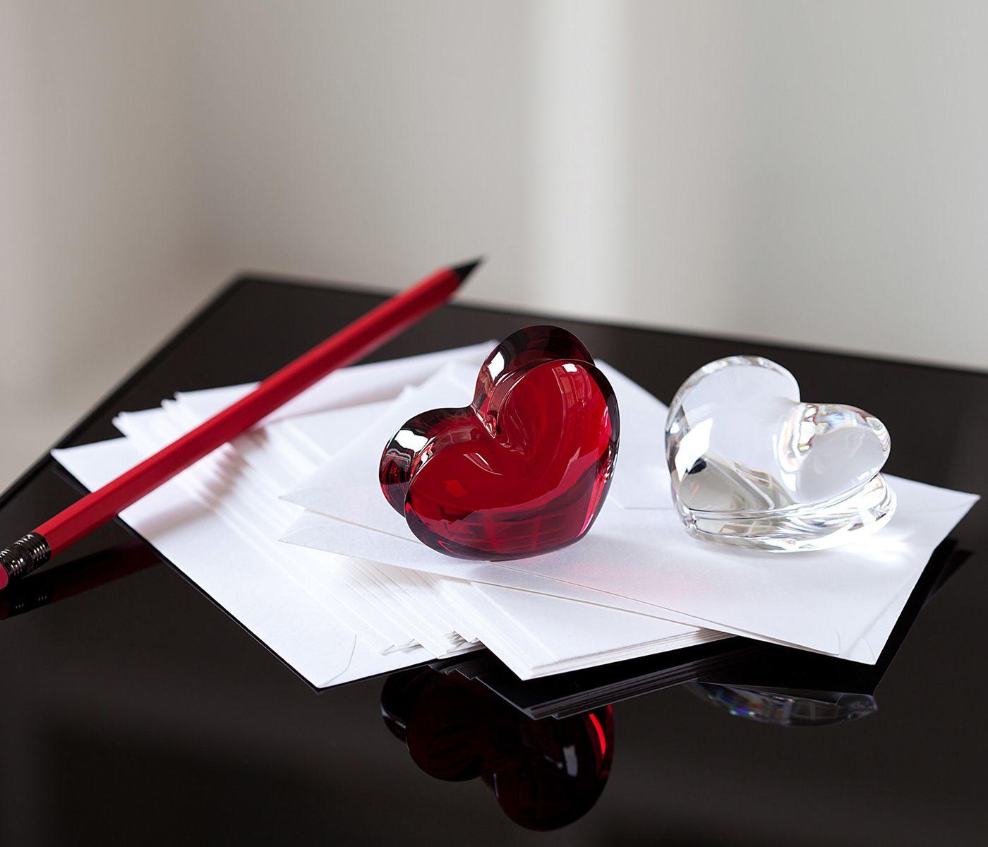 Peso para Papel Coração ZinZin, Baccarat, 2103966