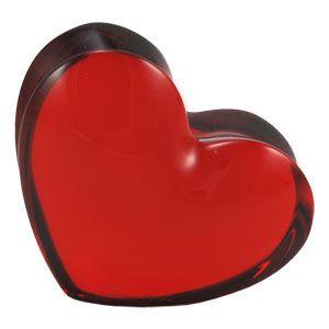 Peso para Papel Coração ZinZin, Baccarat, 2103967