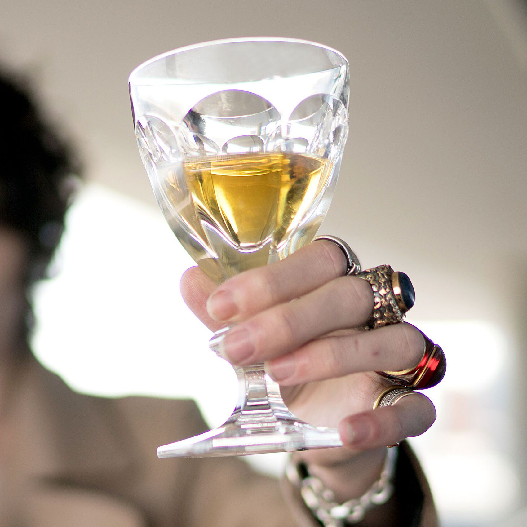 Taça Vinho Branco Harcourt Nro.3  170ml, Baccarat, 1201103