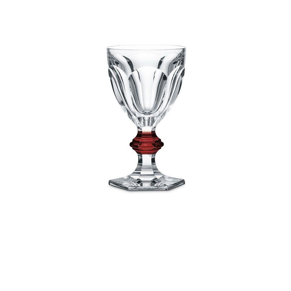 Taça Vinho Tinto Harcourt 1841, Red Knob 250ml, Baccarat, par, 2810590