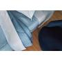 Jogo de Cama Casal CasaComCasa Azul Do Amanhecer Microfibra (4 Peças)