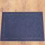 Kit 2 peças Jogo Americano Casa Argivai Glamour Navy (Azul Escuro)