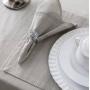Kit 4 peças Guardanapo de Tecido Naturalle Limpeza Prática Strip