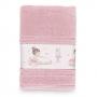 Toalha de Banho Infantil Karsten Bailarina - Gramatura: 380g/m²