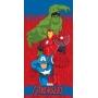 Toalha de Banho / Praia Infantil Lepper Aveludada Vingadores -  Avengers
