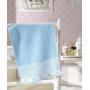 Toalha de Lavabo / Visita Infantil para Bordar Dohler Baby Classic FJ-5171 Jacquard Aveludada - Gramatura: 400g/m²