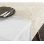 Toalha de Mesa Retangular Karsten Sempre Limpa Mendi 8 Lugares 1,60m x 2,70m