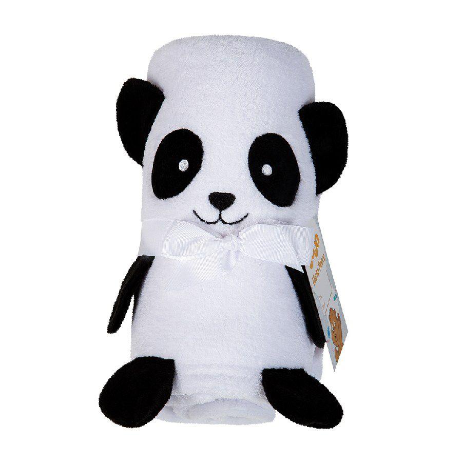 Manta para Bebê Fleece Pandinha - Lepper