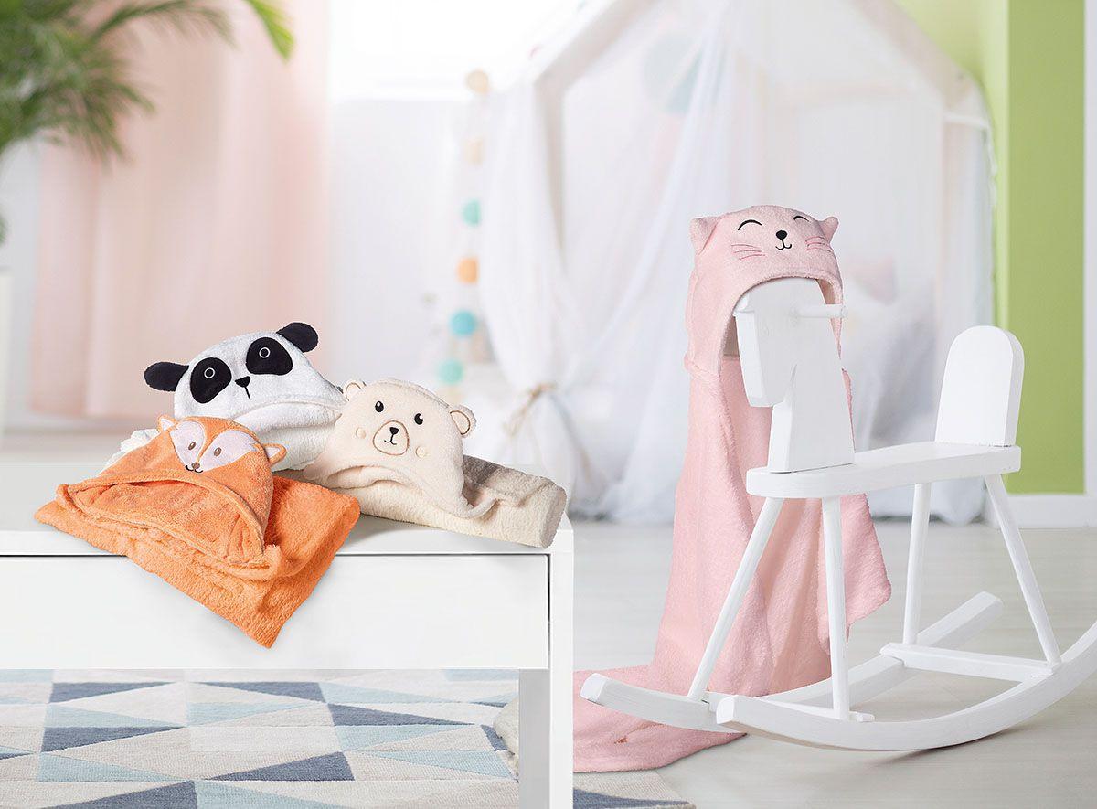 Manta para Bebê Fleece Ursinho com Capuz - Lepper