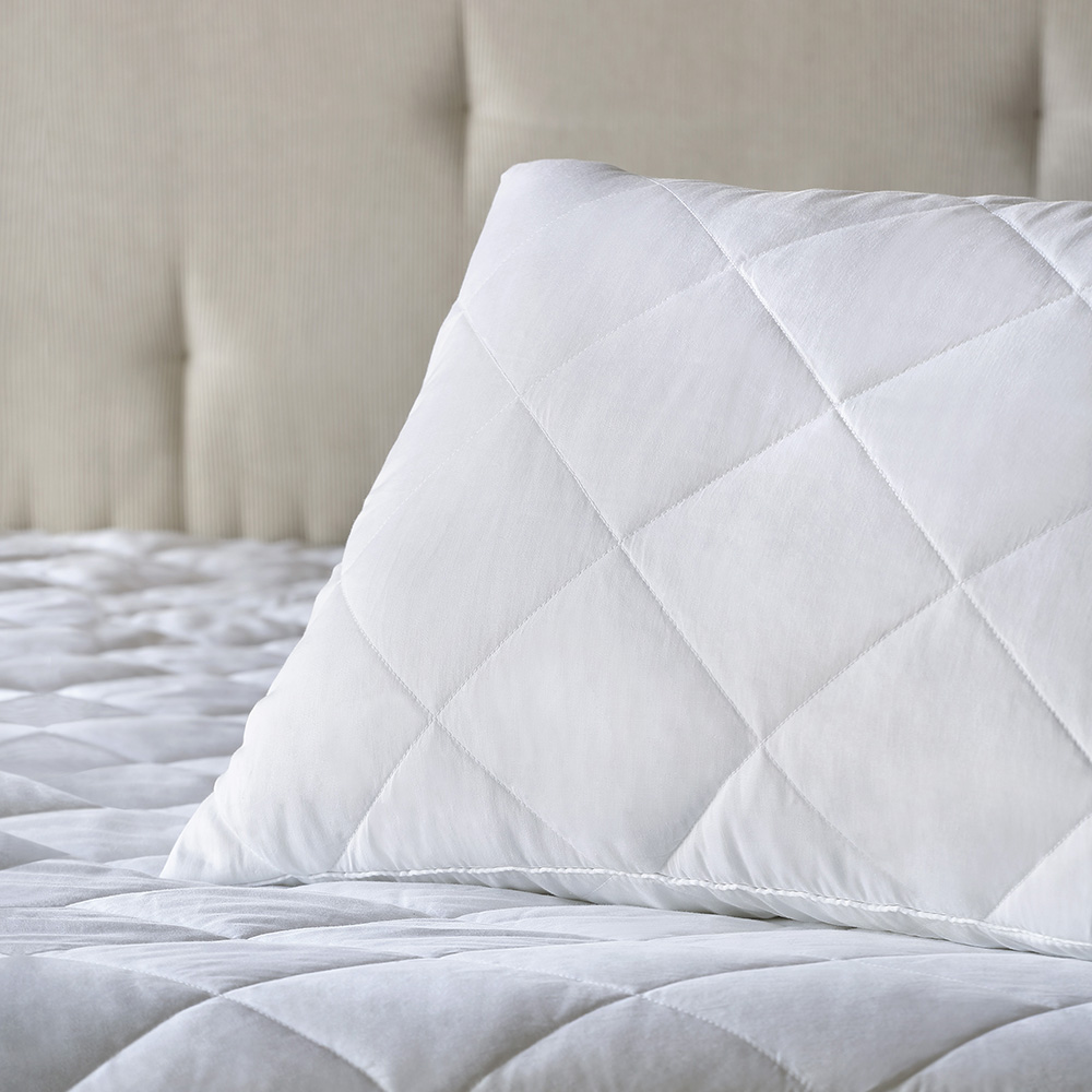 Protetor de Travesseiro Buddemeyer Nuit II Impermeável Cetim 250 Fios p/ King Size 50cm x 90cm (1 Peça)