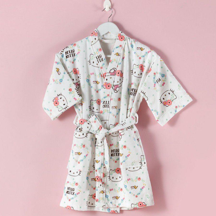 Roupão Infantil Hello Kitty - Artex
