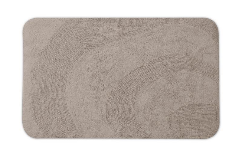 Tapete de Algodão para  Banheiro Naturalle Berlim Fendi 55cm x 90cm
