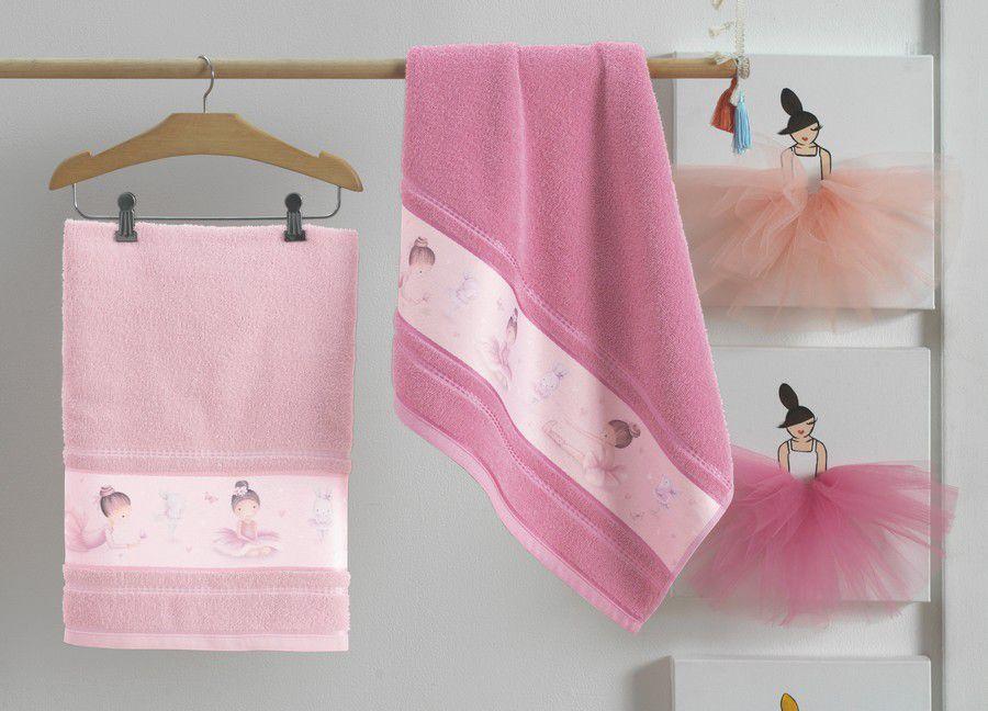 Toalha de Banho Infantil Bailarina - Karsten