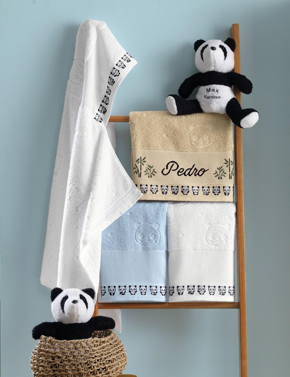 Toalha de Banho Infantil com Capuz para Bordar Karsten Max - Gramatura: 400g/m²
