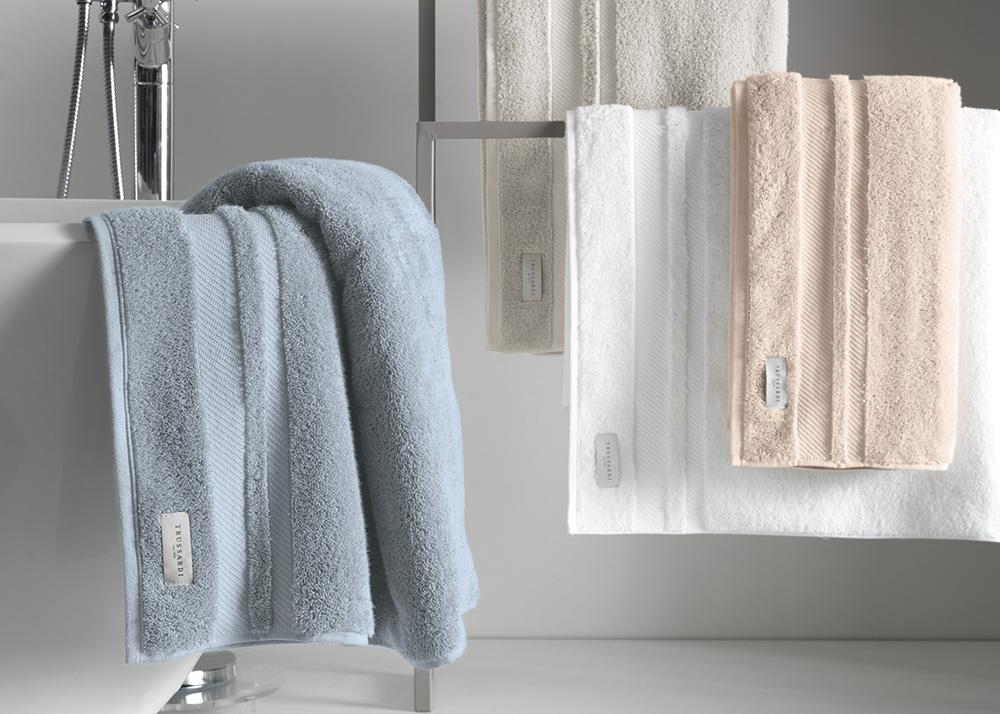 Toalha de Banho Trussardi Lorenzi 100% Algodão - Gramatura: 560g/m²