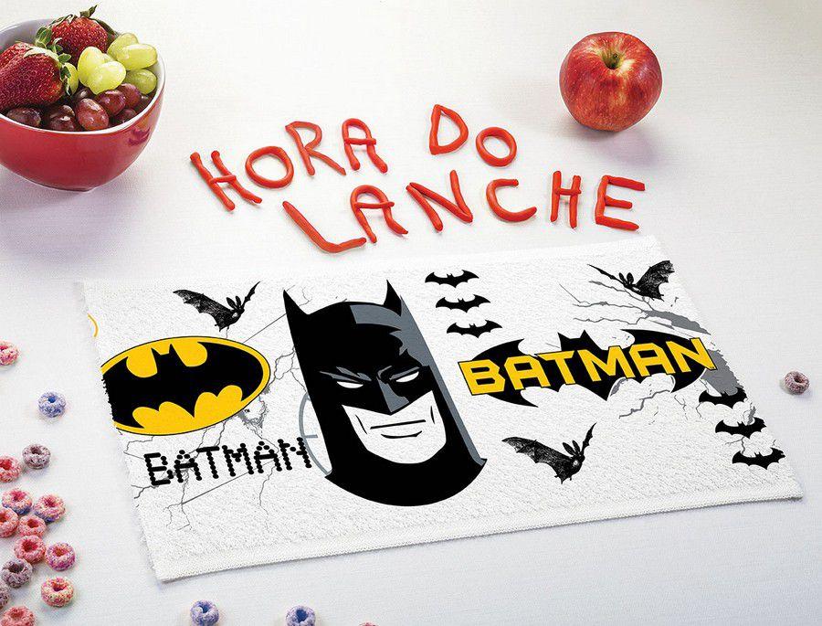 Toalha de Lancheira Infantil Estampada Batman - Lepper
