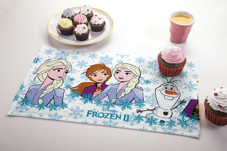 Toalha de Lancheira Infantil Estampada Frozen - Lepper