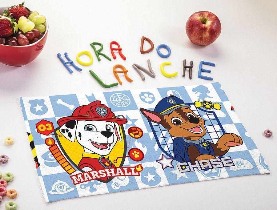 Toalha de Lancheira Infantil Estampada Patrulha Canina - Lepper