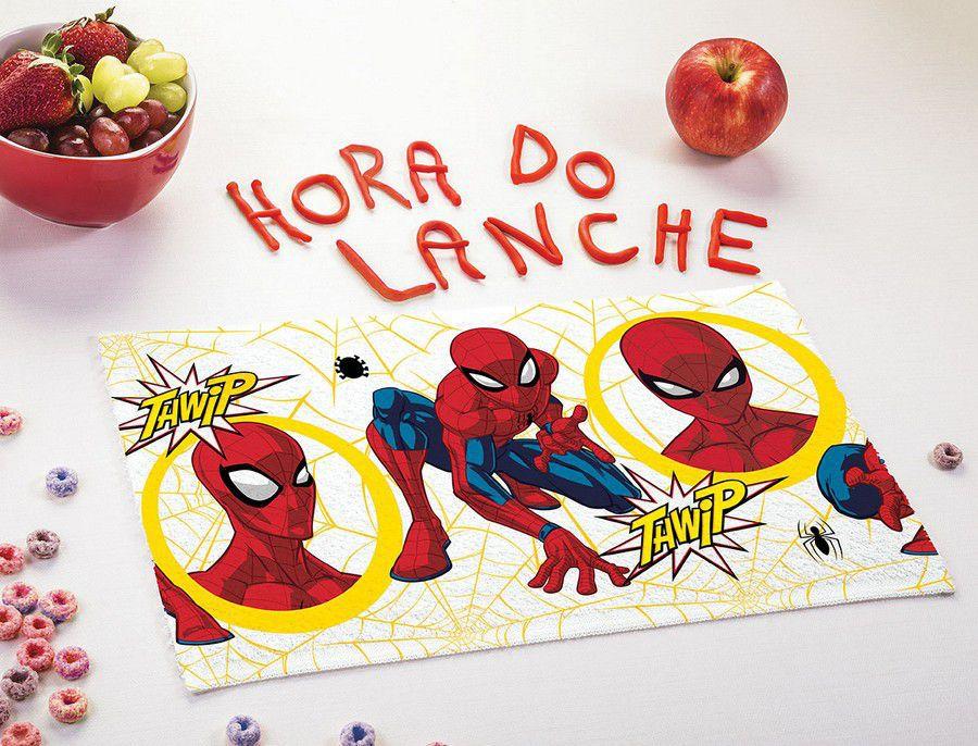 Toalha de Lancheira Infantil Estampada Avengers Spider Man - Lepper