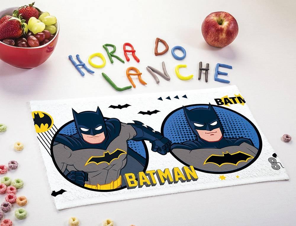 Toalha de Lancheira Infantil Lepper Estampada Batman