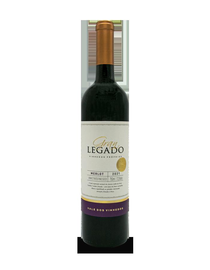Vinho Tinto Gran Legado Merlot