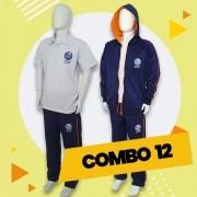 COMBO 12 - 30% OFF   Alphaville   Casaco Fleece + Calça Fleece + Gola V + Polo