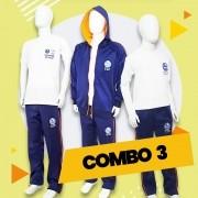 COMBO 3 - 20% OFF | Alphaville | Camiseta Básica + Calça Fleece + Manga Longa + Casaco Fleece
