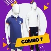 COMBO 7 - 15% OFF   Alphaville   Vestido Polo + Shorts + Manga Longa + Calça Moletom