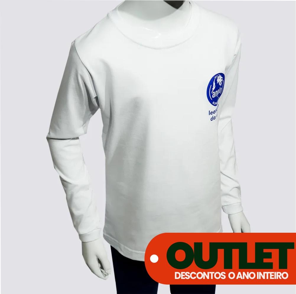 OUTLET 30% OFF // CAMISETA MANGA LONGA ANGLO // (Logo Alpha)