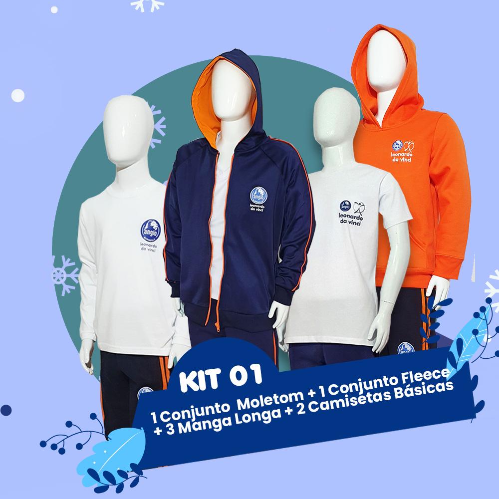 Kit 1 // Outono & Inverno Anglo - 15% OFF //