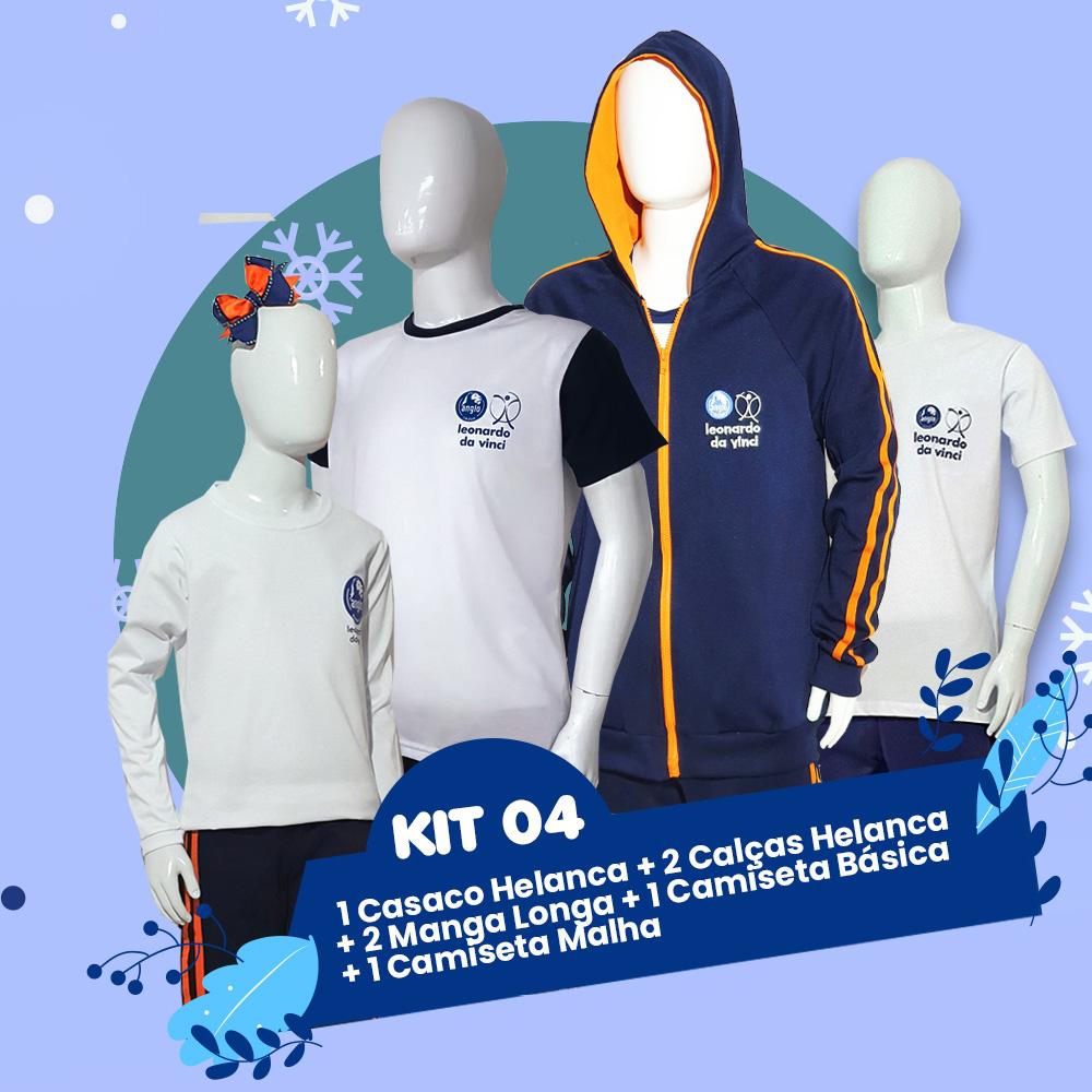 Kit 4 // Outono & Inverno Anglo - 12% OFF //