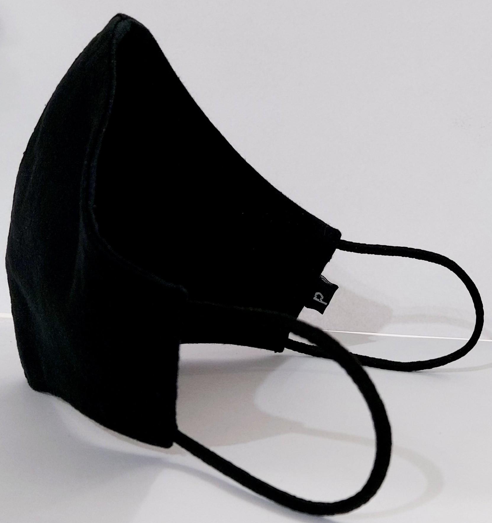 Mascara de Proteção 100% Algodão com clip Nasal e ajuste de elásticos -  Mod. 01