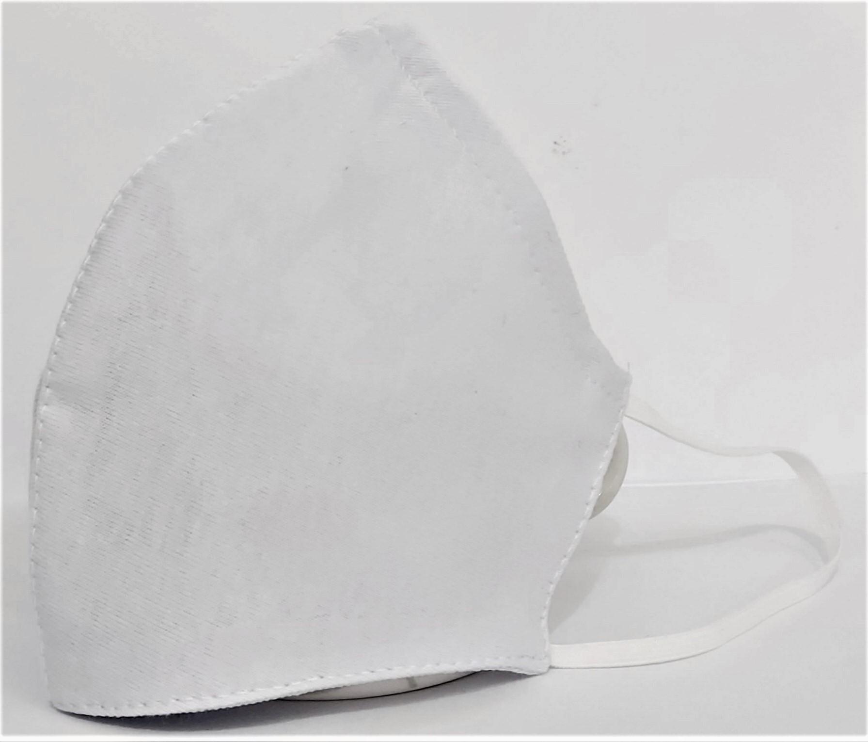 Mascara de Proteção 100% Algodão com clip Nasal e ajuste de elásticos - Mod. 02