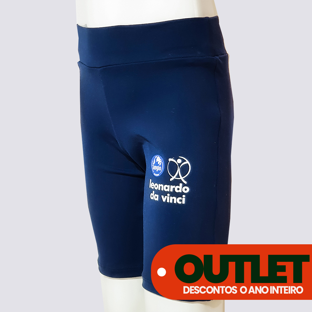 OUTLET 20% OFF // BERMUDA CICLISTA MICROFIBRA LEVE ANGLO //