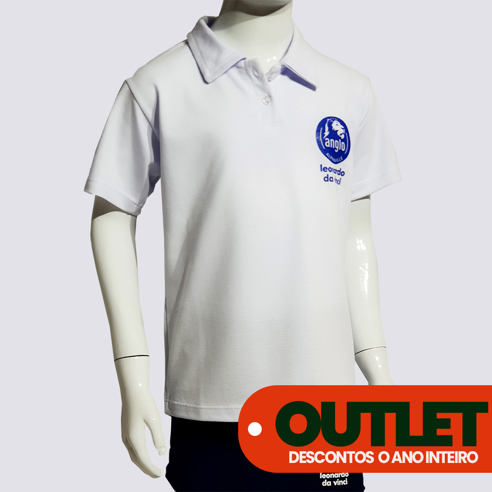 OUTLET 50% OFF // CAMISA POLO ANGLO //