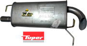 ESCAPAMENTO ECOSPORT 1.0 1.6 Supercharger 2004 A 2005 TRASEIRO