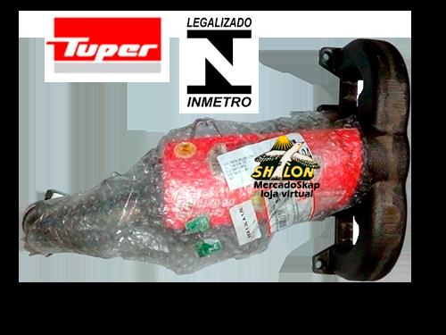 CATALISADOR DOBLO CARGO 1.4 8V MPI 2010 A 2015 COM COLETOR MODELO ORIGINAL SELO INMETRO