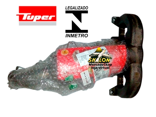 CATALISADOR PALIO WEEKEND 1.4 8V FIRE FLEX 2009 A 2011 COM COLETOR MODELO ORIGINAL SELO INMETRO