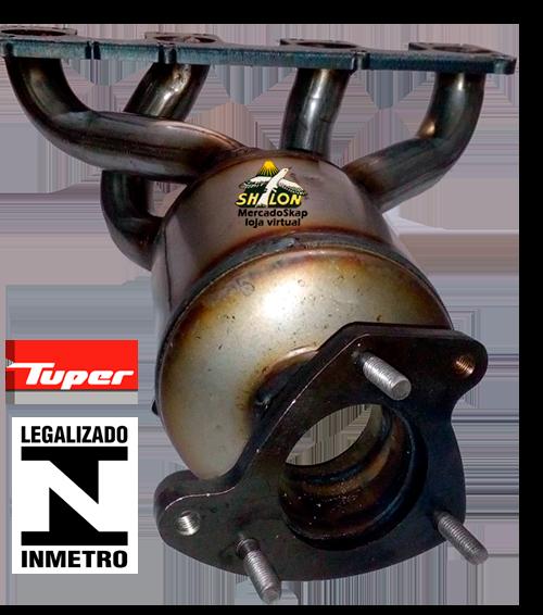 CATALISADOR STRADA 1.8 MPI 8V FLEX 2005 A 2009 MODELO ORIGINAL SELO INMETRO