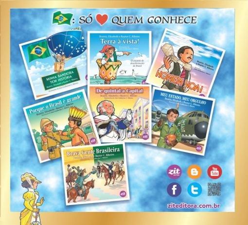 COLEÇÃO BRASIL: SÓ AMA QUEM CONHECE 7 LIVROS
