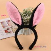 Arco orelha coelho pelucia