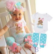 Conjunto body com meia rabbit
