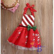 Jardineira vestido Doce de Natal