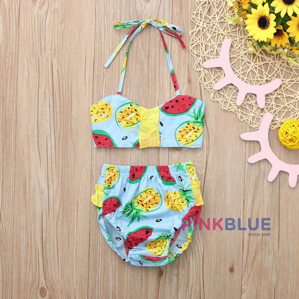 Banho de sol frutinhas