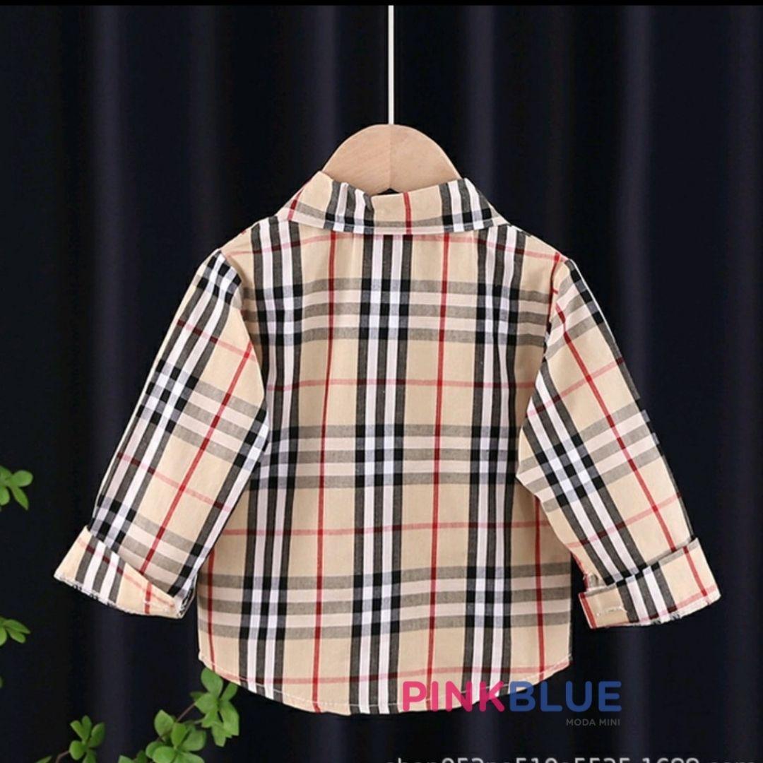 Camisa xadrez by Burberry