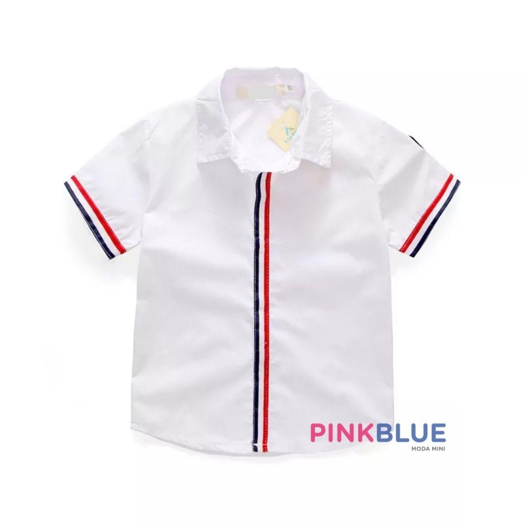 Conjunto bermuda e camisa Thales
