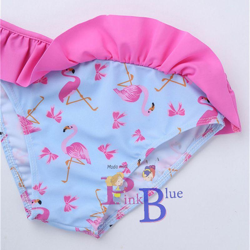 Conjunto de praia flamingo