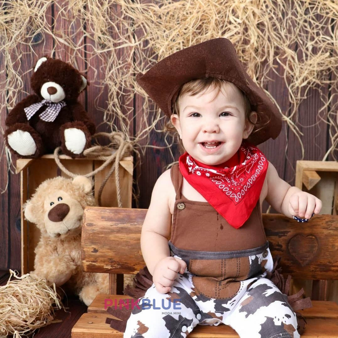 Conjunto Fantasia Cowboy Country