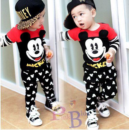 Conjunto Mickey Mouse